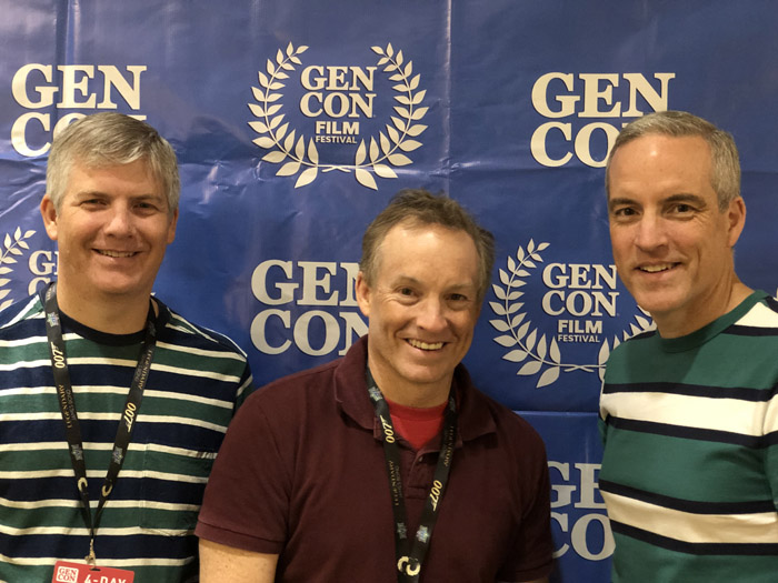 Gen Con 2019 - L-R: Ryan Fortier, Curtis Fortier, Kevin Fortier